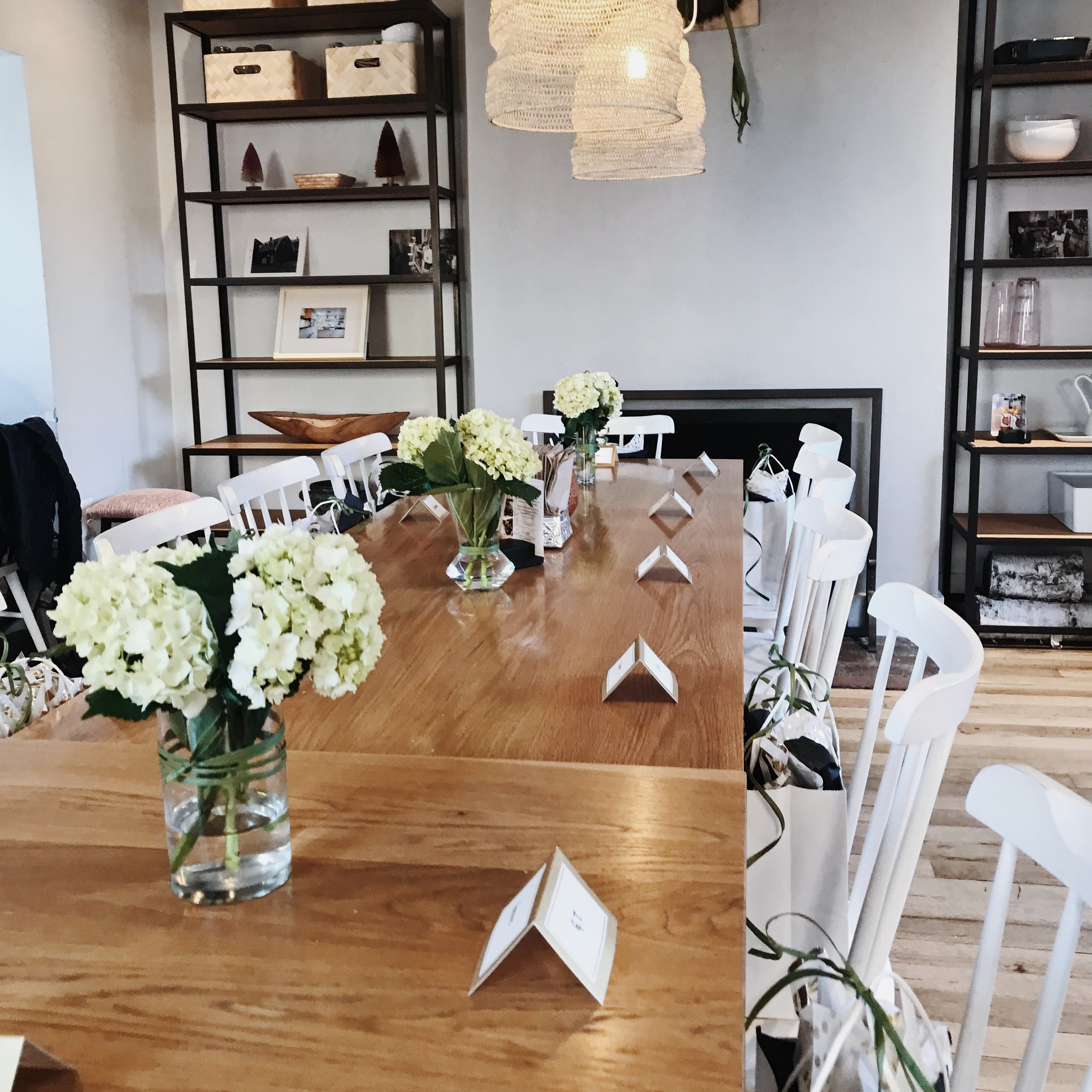 Eco-Dinner:Mimi Miller WomenswearxArt of the Journey - chaia, march 2018