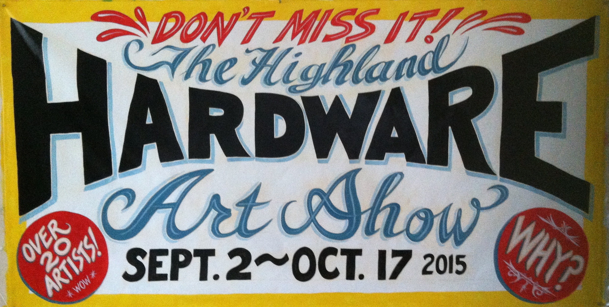 The Hardware Store Art Show
