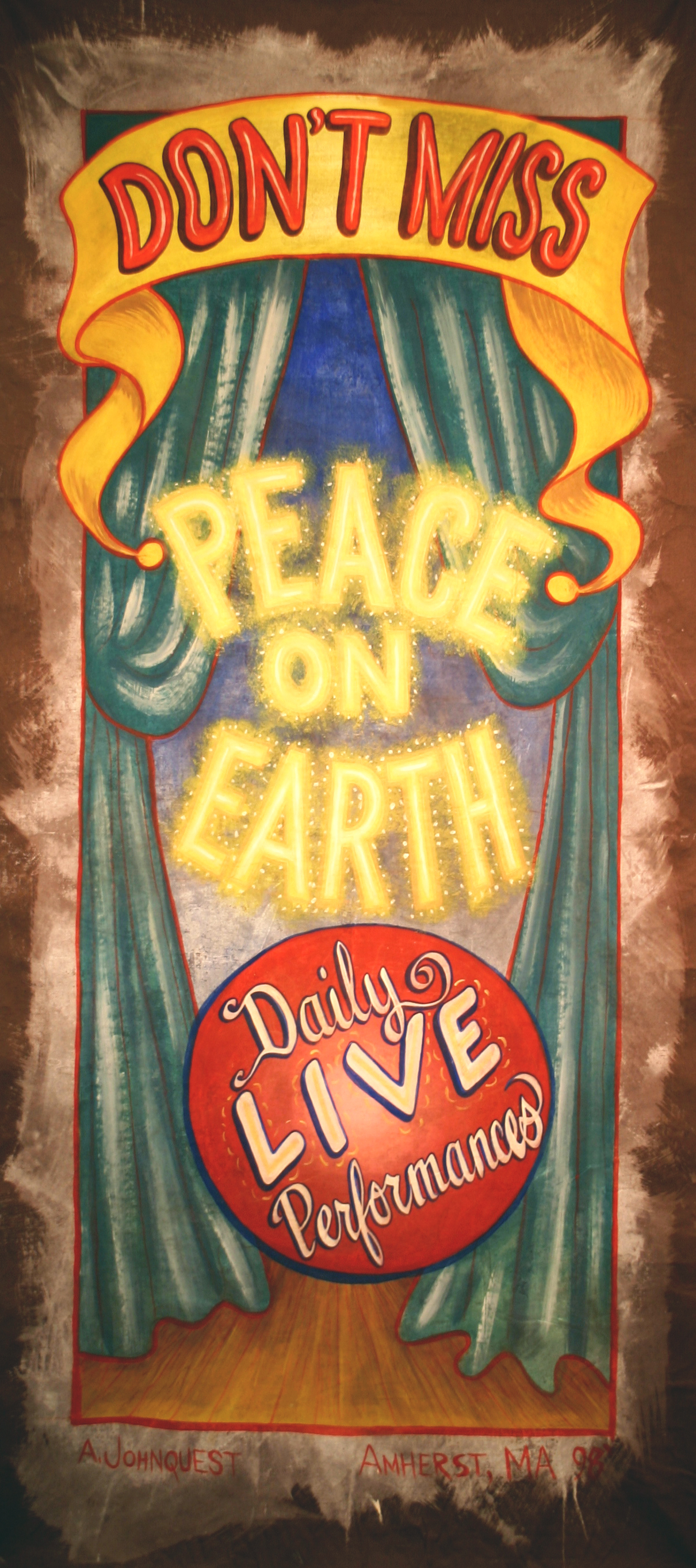 Don't Miss Peace on Earth