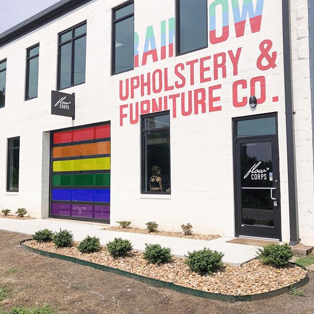 We like to think our values are written on the wall 😊 Love is love 🌈 We are happy to celebrate #pride this month AND EVERY MONTH!