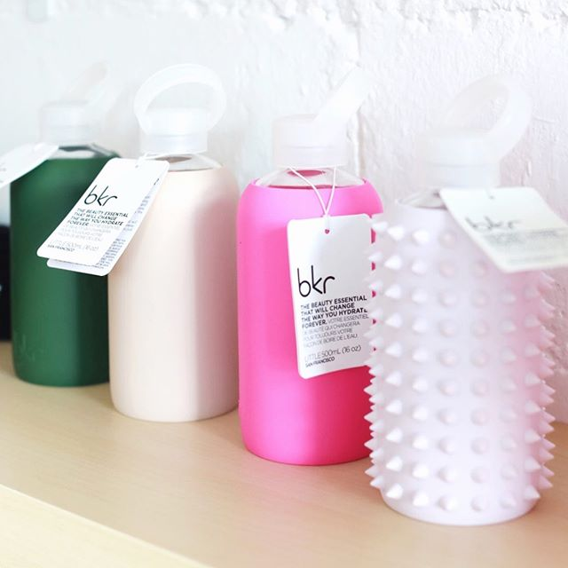 FLASH SALE ⚡️Time to beat the weekend heat! Take 30% off all @mybkr water-bottles in the studio this weekend (and be sure to stay cool.. 111* tomorrow!)
