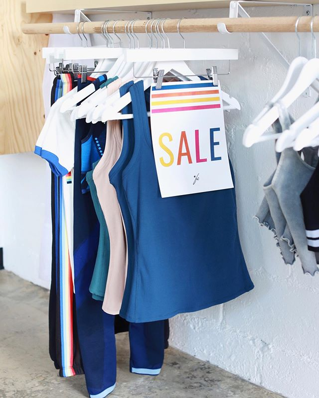 Don't forget.. we have our STARS & STRIPES SALE happening until Sunday! ⭐ Get 25% off all items featuring stars or stripes and an additional 25% our sale rack.⁠⠀