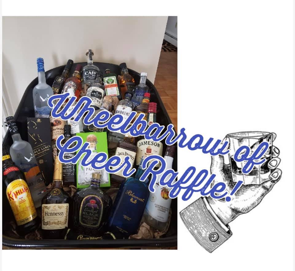 Wheelbarrow of Cheer Fundraiser - $800 worth of assorted alcoholTickets $5 each or $25 for 6Drawing April 16thContact any Low Rolling Deuce or another memeber of the league for tickets .