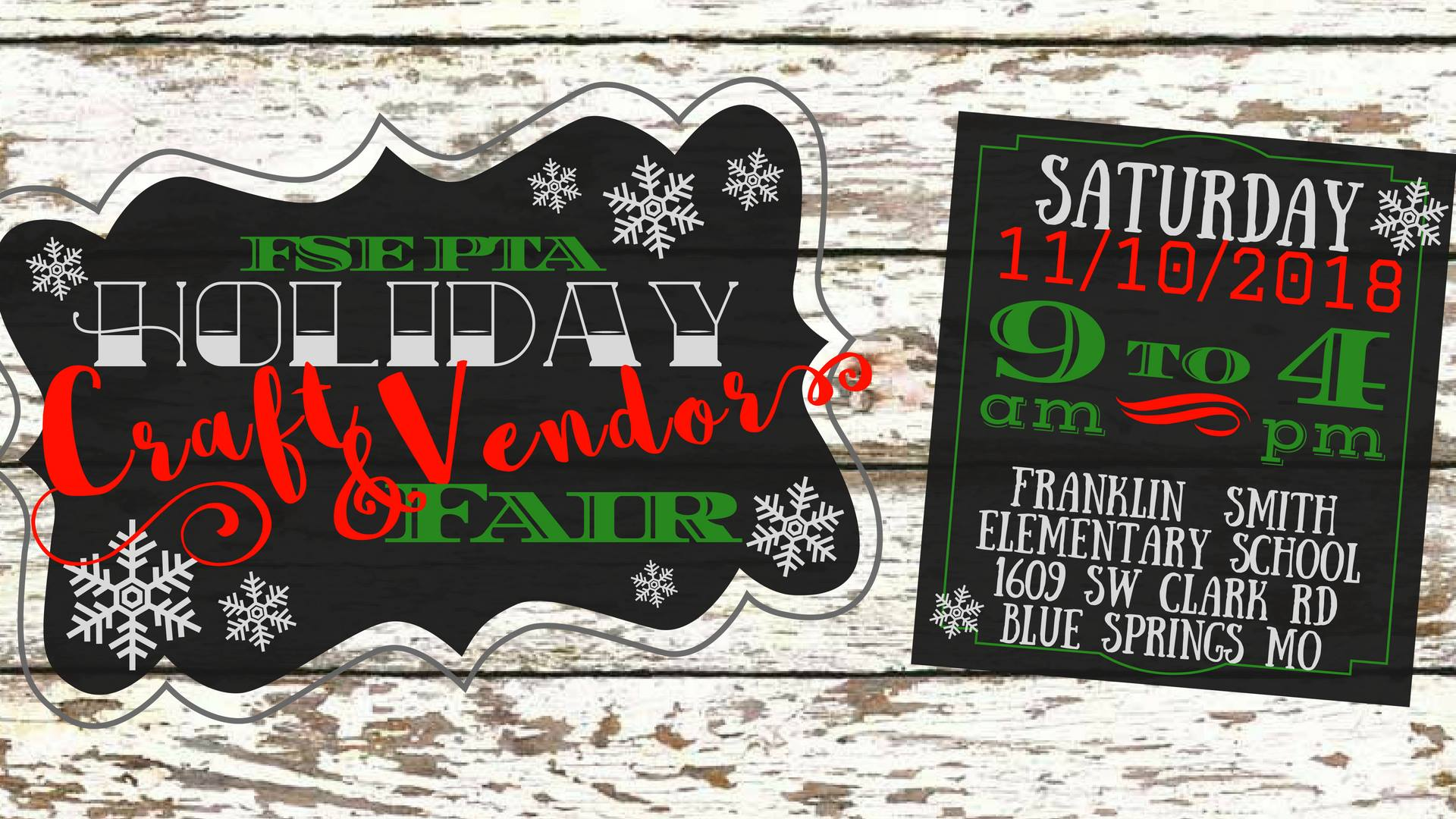 Holiday Craft & Vendor Fair - Saturday, Nov. 11 9-4pmFranklin Smith Elementary School 1609 SW Clark Rd., Blue Springs, MO 64015HeideHo will be selling & signing books amidst a sea of amazing holiday gifts and booths! Come see us!