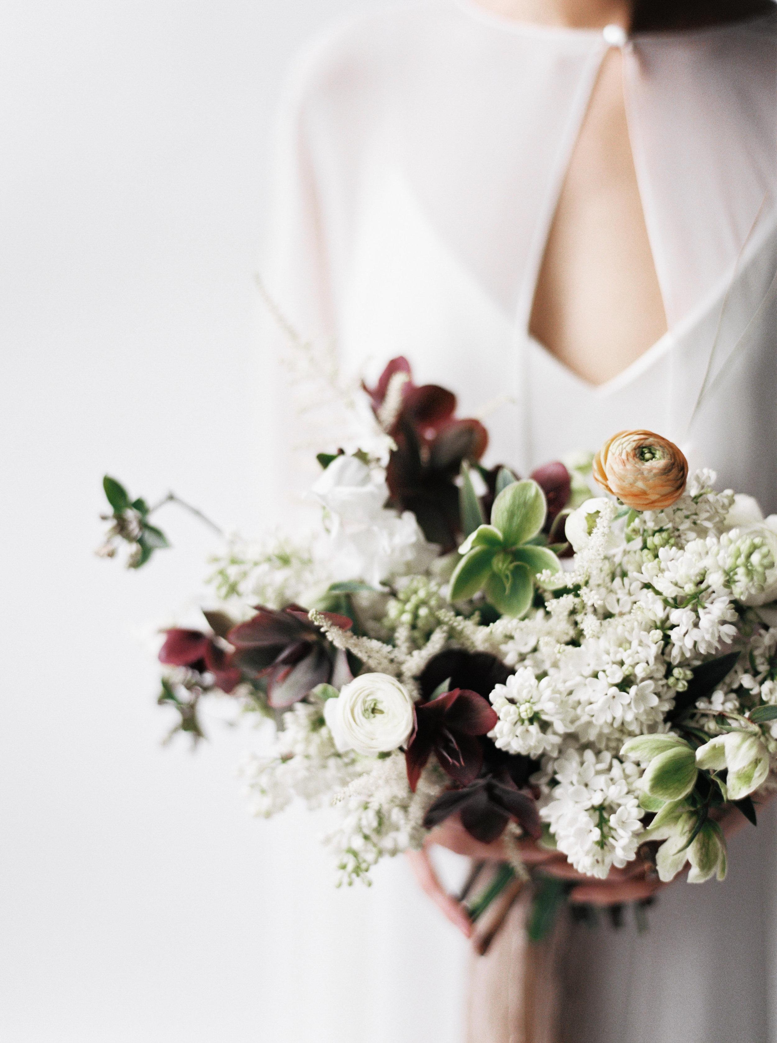 spring minimalist editorial - flowers