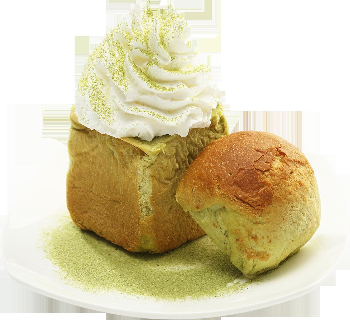 Mini Green Tea Honey Bread