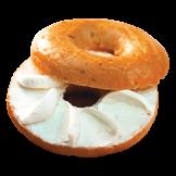 Plain Bagel w/ Cream Cheese