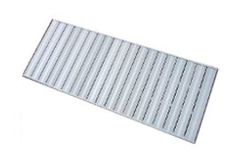 Standard Aluminum Docks   Our Standard Aluminum Dock is built with our welded bi-directional frame supporting non-anodized decking that will not warp, splinter or rot like wood. Aluminum Docks are half the weight of wood docks, have no risk of protruding nails and will last forever.!