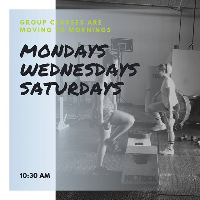 We have decided to move the South Tampa BIRTHFIT Fitness group classes to mornings! Please join us if you are anywhere in the motherhood transition and these times work for you! See you Mondays, Wednesdays, and Saturdays at 10:30 am. Time change starts next week.🤰🏽💪🏼💚