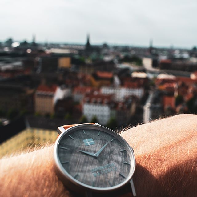 Need a perfect view over the city?🌇🏙⁠ ⁠ Then Our Saviour's Church is a great place to start. You could bring your very own Christiania inspired watch from our Christiania Collection!⁠ ⁠ Link in our bio.⬅️