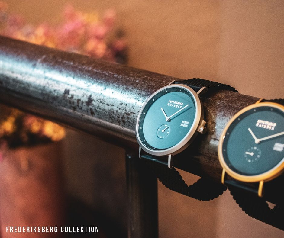 Frederiksberg and Copenhagen watches collection