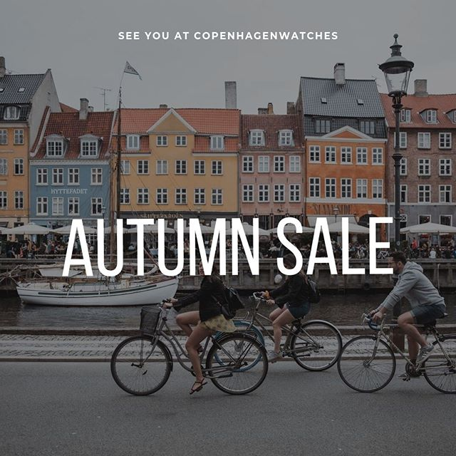 To celebrate the beautiful autumn we want to give you 40 % off every watch from the Copenhagen & Frederiksberg collection🍂🌞⁠ ⁠ Use code: AUTUMN40⁠ ⁠ Shop through our link in bio ✌️