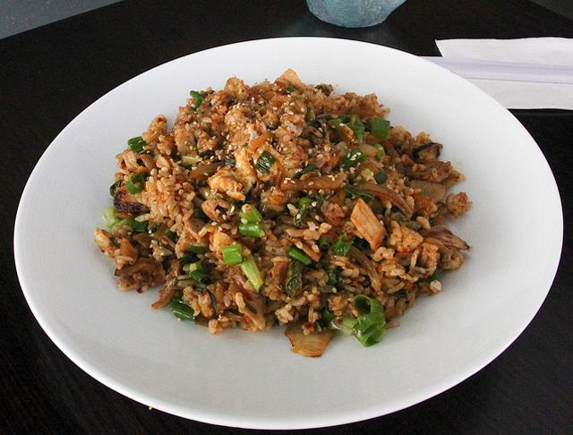 Kimchee Pork Belly Fried Rice