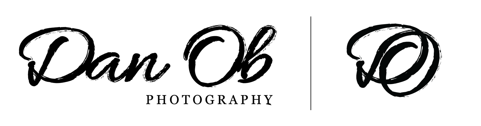 - Dan Ob Photography is a Boston-based photographer who was in need of a brand. He wanted a logo that spoke to an edgy and creative outlook, but brought in the traditional elements of photography.