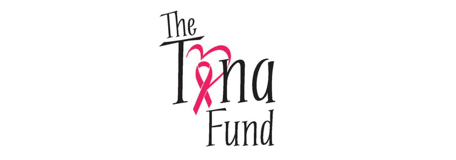 - The Tina Fund is a charitable organization that assists those with breast cancer. They had wanted a logo that captured the nature of Tina M. Turner, who the fund is named after, while including a heart and the breast cancer ribbon.