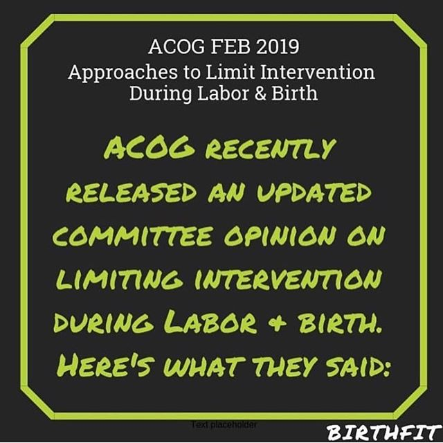 INFORMED people make INFORMED decisions, it's really that simple 🤷🏼‍♀️⁣ ⁣ ⁣ #acog #birth #birthfit #birthfitunioncity #information #limitintervention #pregnancy #childbirth #childbirtheducation #doula #honorbirth #educateddecisions #empoweredwomen