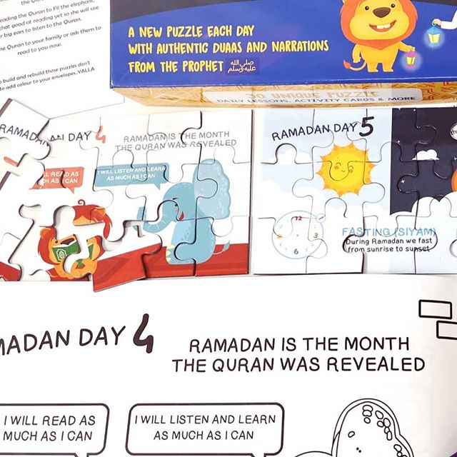 🌟FREE COLOURING BOOK with all orders of ramadan puzzles or arabic pack🌟 ✔️ RAMADAN15 AT CHECKOUT FOR EXTRA 15% OFF ✔️FREE UK DELIVERY . WWW.YALLAKIDS.CO.UK  Do you want something that is more than just a ramadan activity to keep kids busy? The 30 days of ramadan puzzles are more than just puzzles .  #YallaColour #YallaBuild #YallaLearn Children can do this as an independent activity or even with the support of siblings/parents There is also a colouring book version of the puzzles available on our website if you want additional activities (or if you have more than one child and want them to share puzzles/books)  Make sure you subscibe on our website for a special discount code! If you have your puzzles already make sure you tag us in your pictures!