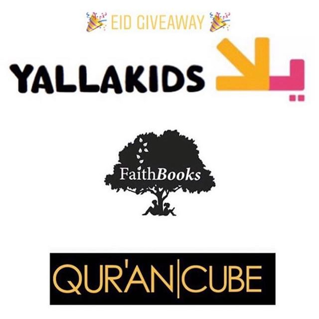 🌟G✨I✨V✨E✨A✨W✨A✨Y🌟  We have joined with some amazing companies to bring you an amazing EID giveaway! . 🌍 Open internationally . To win simply:  1.Follow @yallakids @faith_books @qurancube  2. Tag 2 (real) friends - you can comment more than once for more chance of winning  3. Like this post  4. Repost and tag the brands for extra brownie points  WINNER GETS: ♡ QuranCube Pillow ♡ YallaLearn Arabic Pack (Write and Wipe L1 and L2 and Arabic Puzzles ♡ 30 Days of Ramadan Puzzles ♡ My first quran with pictures by faithbooks  All parcipiants should be 18+ 🎉The lucky winner will be announced on Wednesday 5th June!