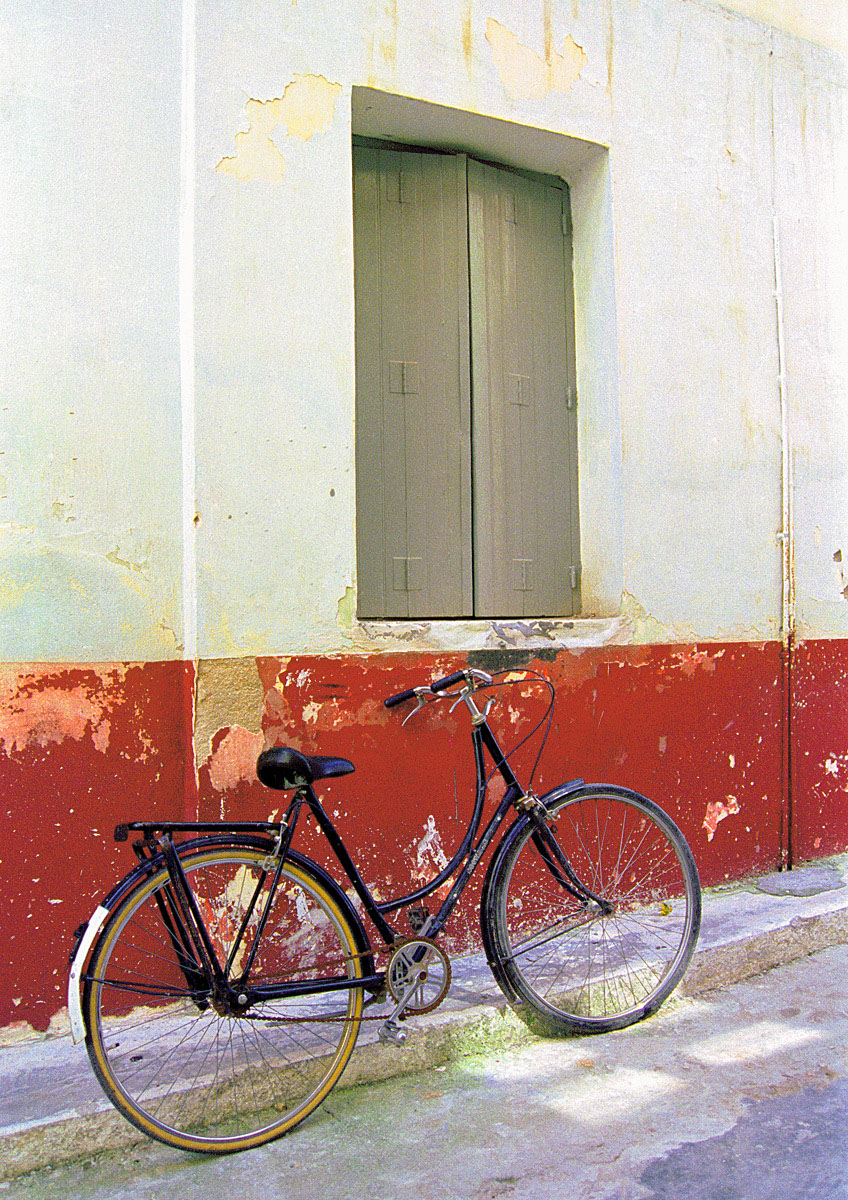 Bicycle, Nafplio, Greece