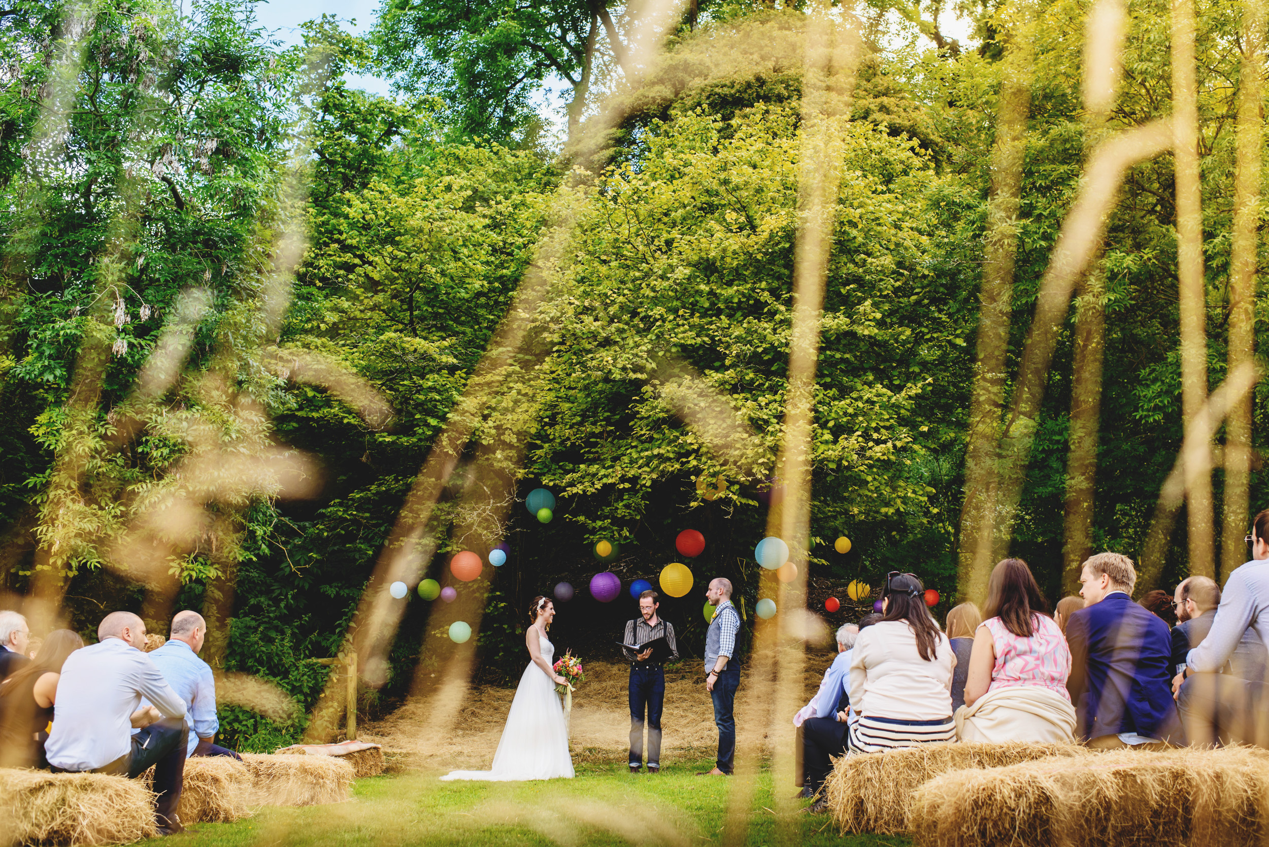 Our Humanist Wedding 2016, Wiltshire, UK. Photo  Ross Harvey