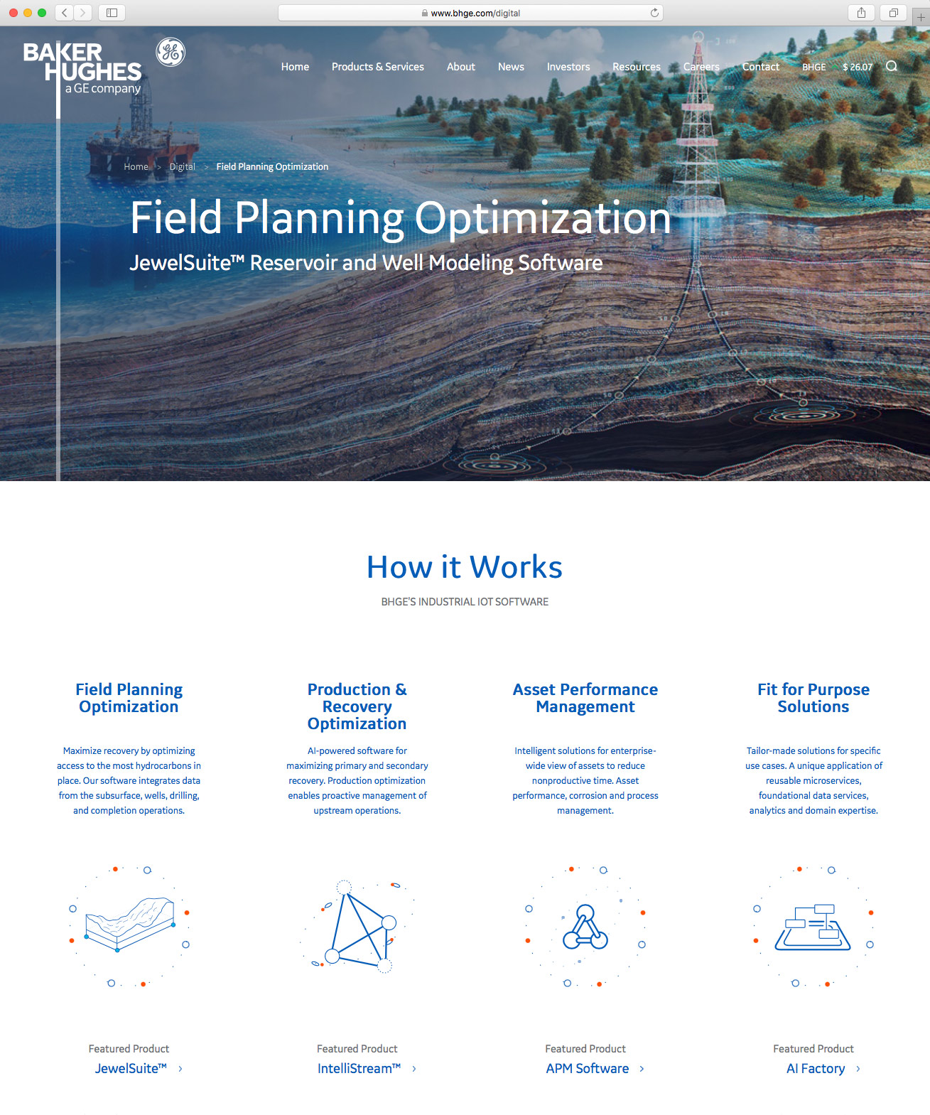 Field Planning Optimization