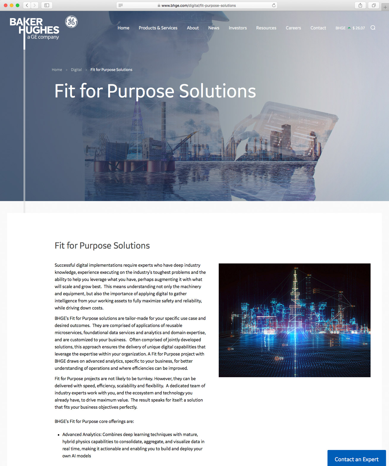 Fit for Purpose Solutions