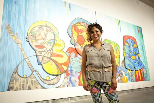 Favianna Rodriguez. Courtesy Yerba Buena Center for the Arts. Photo: Tommy Lau.