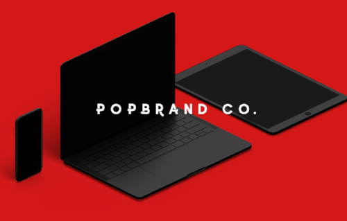 popbrand co. - STAND OUT ON THE SCROLL - Big thanks to POPBRAND CO. for working with us to create our DESIGN for LIFE website! Check them out and their beautiful design options.