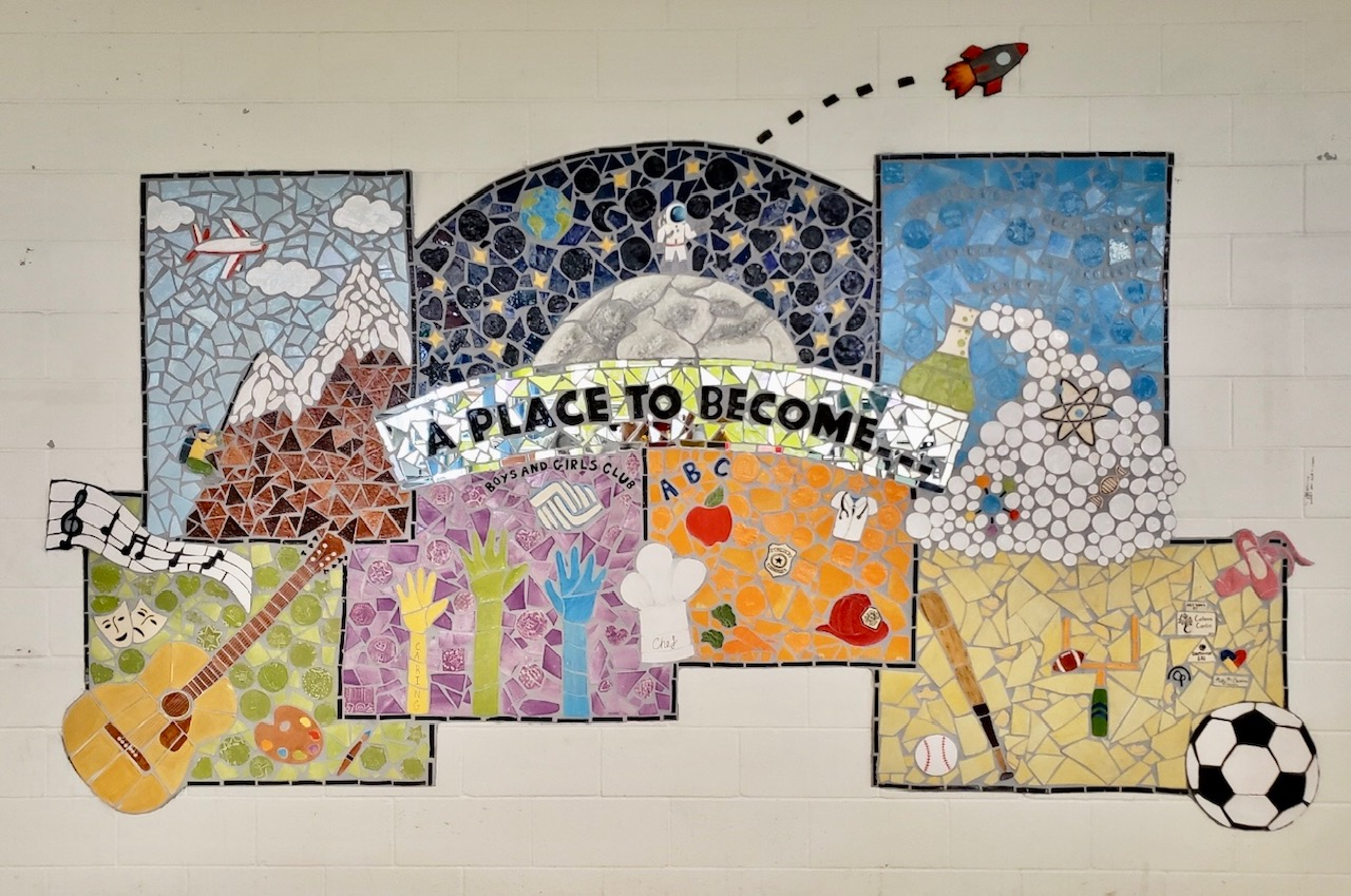 Colleen Conlin Boys and Girls Club Mural