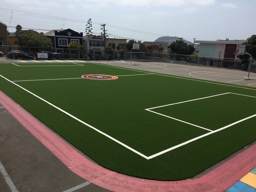 Sunday afternoon adult soccer - Come by Paul Revere Middle School in Bernal Heights for pickup soccer sessions Sundays from 1pm - 3pm. Download a flyer here. RSVPs required each time.
