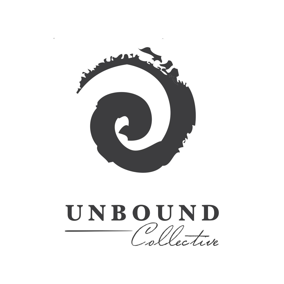 Unbound Collective   Logo design and full branding. Newport Beach, California.