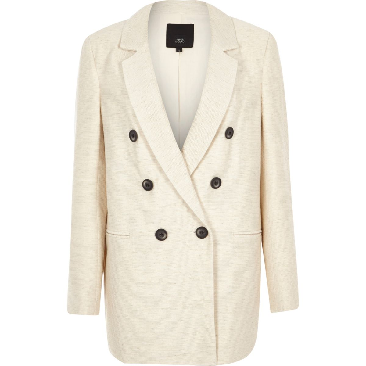 River Island blazer, $136