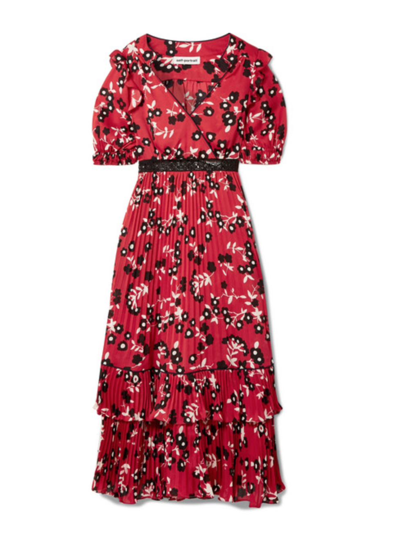 Self-Portrait dress, $425.25
