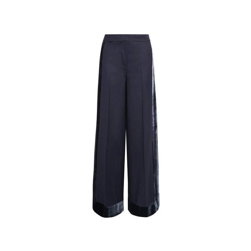J.Crew Velvet-trimmed Wool Pants, $191.56
