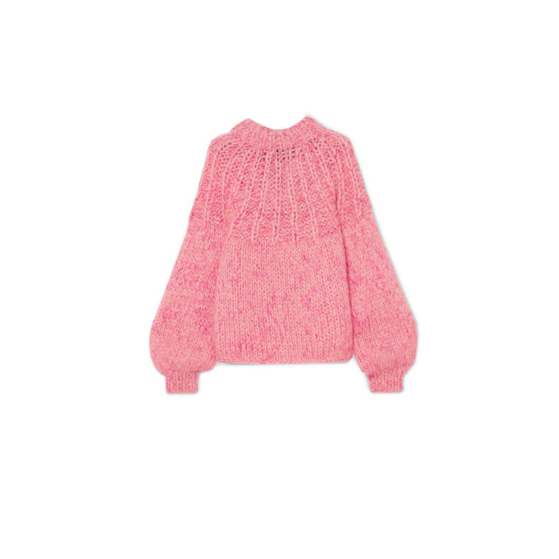 GANNI Mohair And Wool-blend Sweater, $327.73