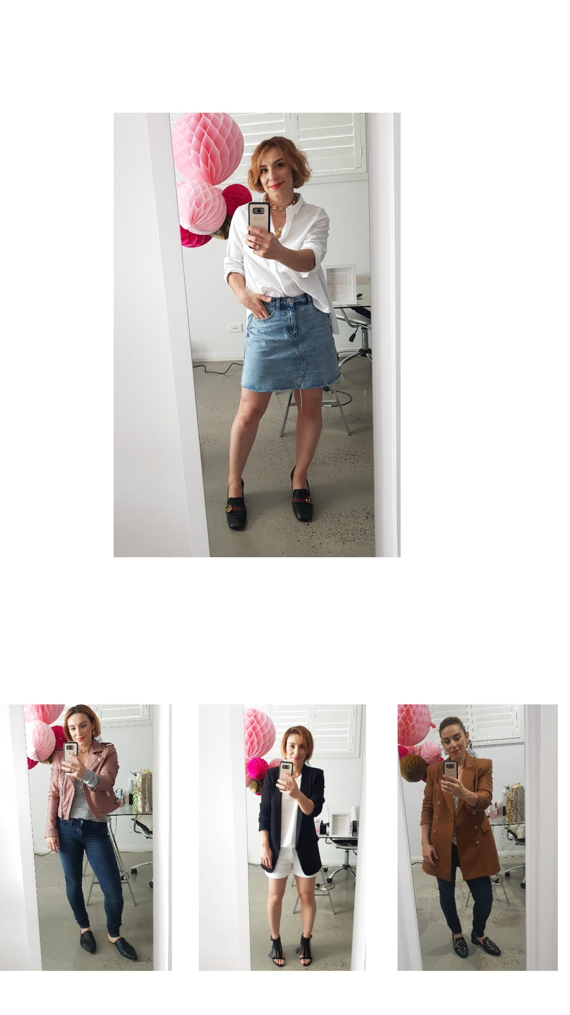 Some of my recent outfit combinations