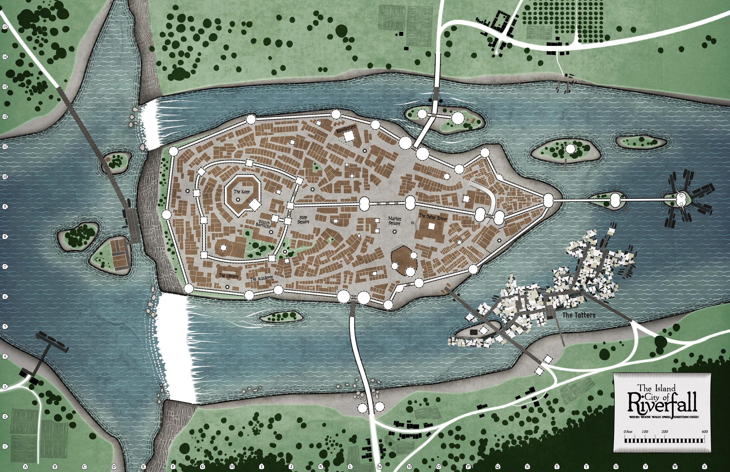 Map of Riverfall