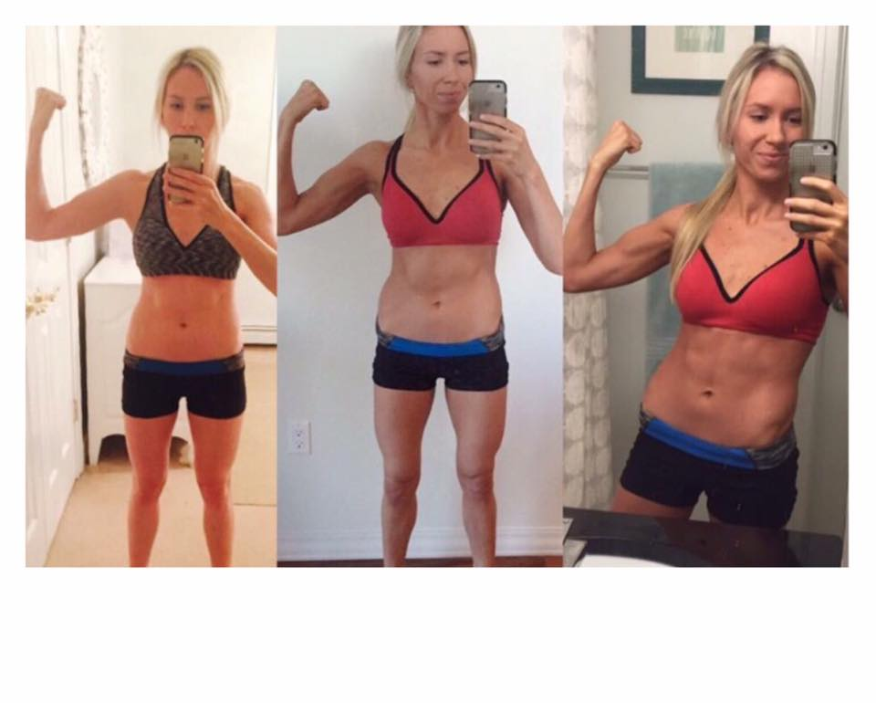 Ab workouts, hammer and chisel results , 21 day fix results, wedding workouts