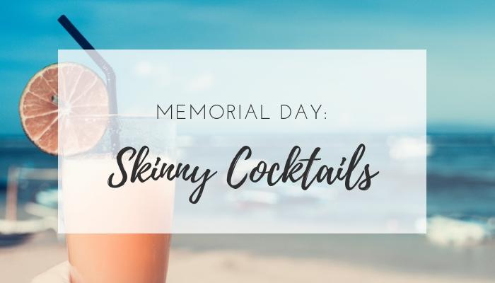 skinny cocktail recipes