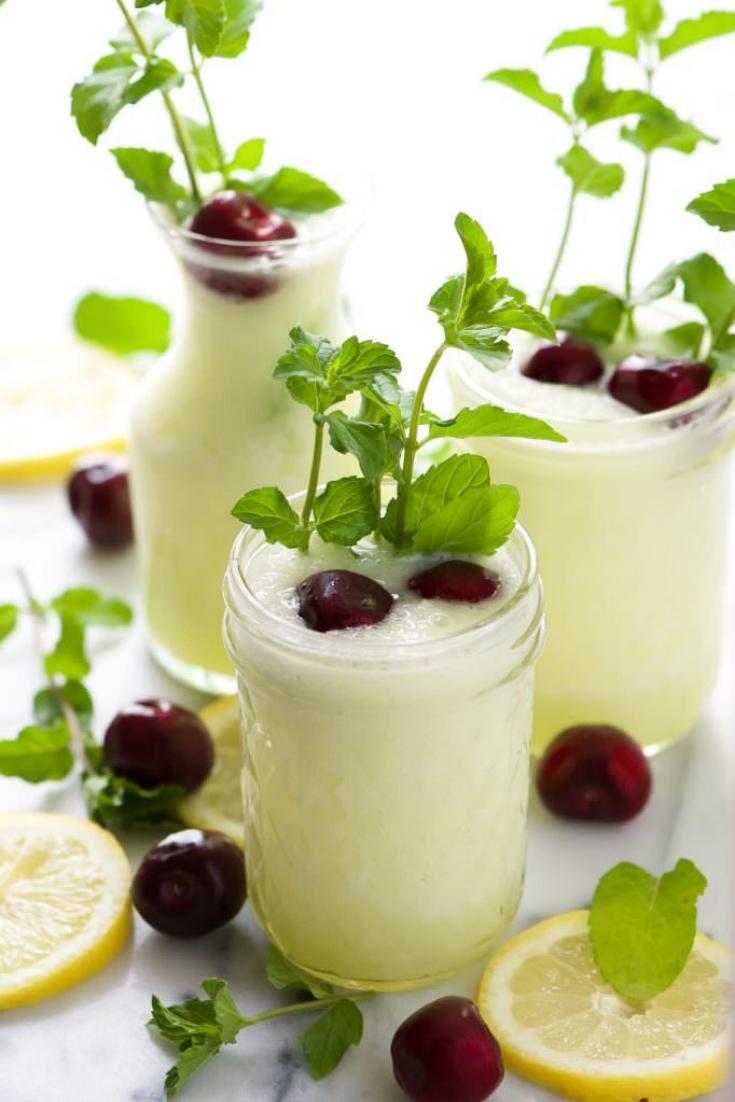 Spiked Cherry Lemonade Slush (Skinny)   Higher Level Living