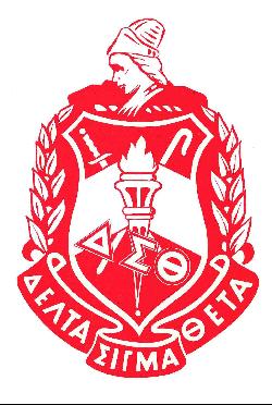 Delta Sigma Theta Sorority  ,  Founded 1913, Howard University
