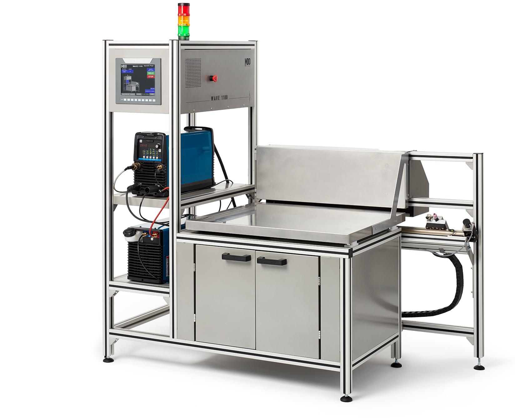 L'Ultime automate de soudure au TIG à son plus simple - Disponible à des longueurs de table de 36, 48, 60 et 72 pouces.