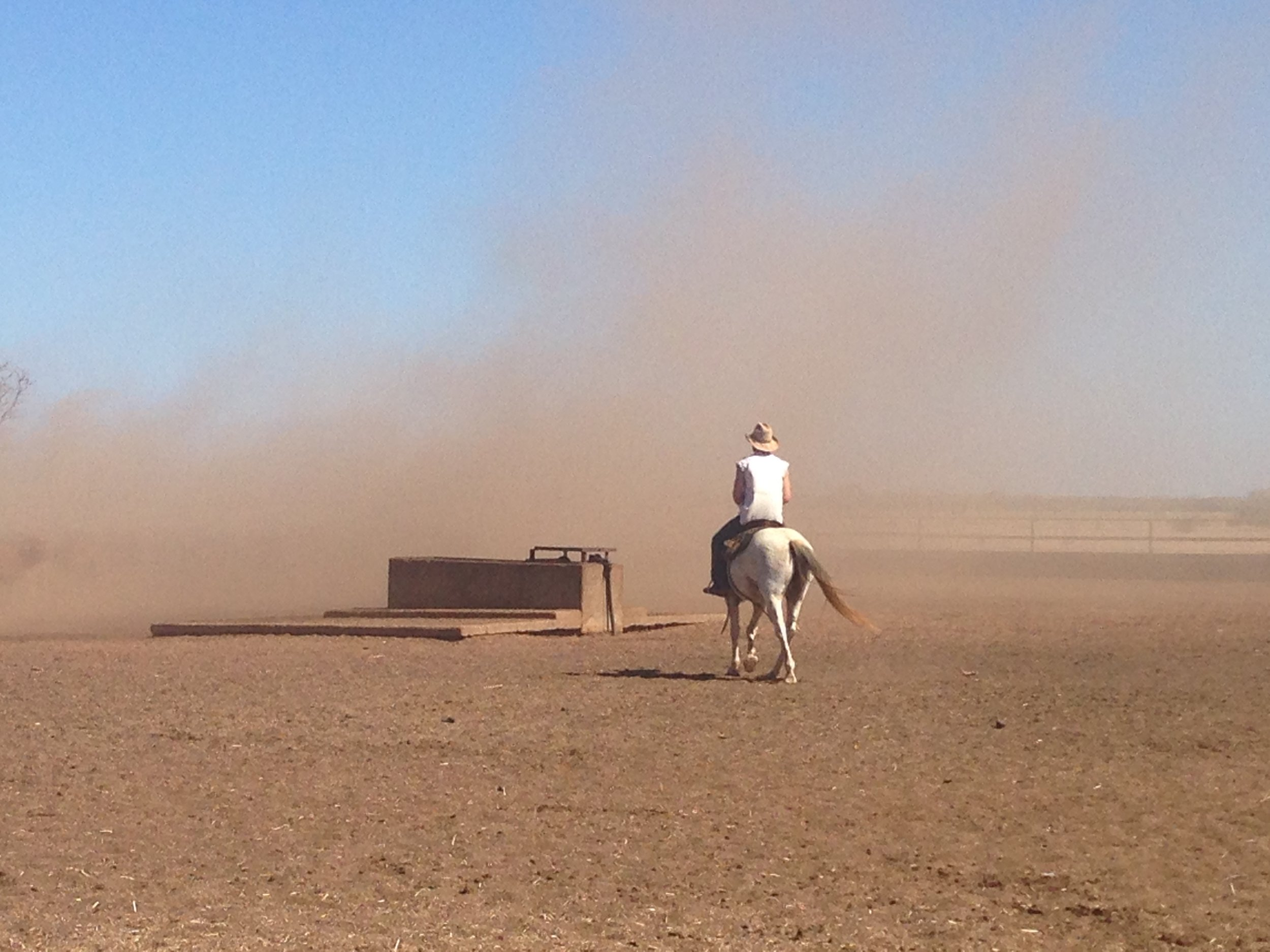 Riding in the Dust