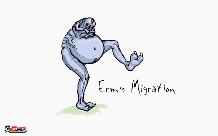 Erm's Migration (Start Screen)