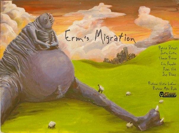 Erm's Migration: Title Painting
