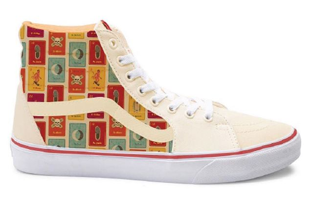 Throw back from one of the concepts I came up with for vans #loteria#vans#design#latino