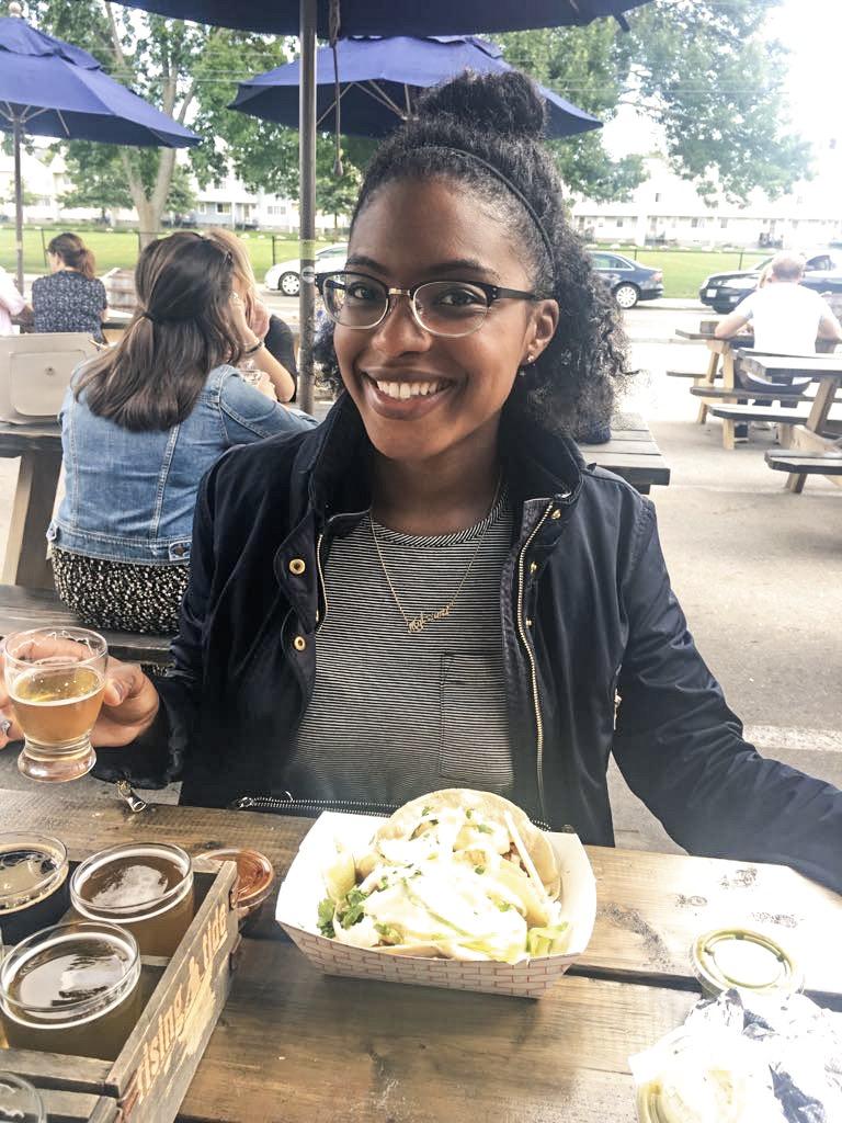 September 2017: Beer tasting in Portland, Maine