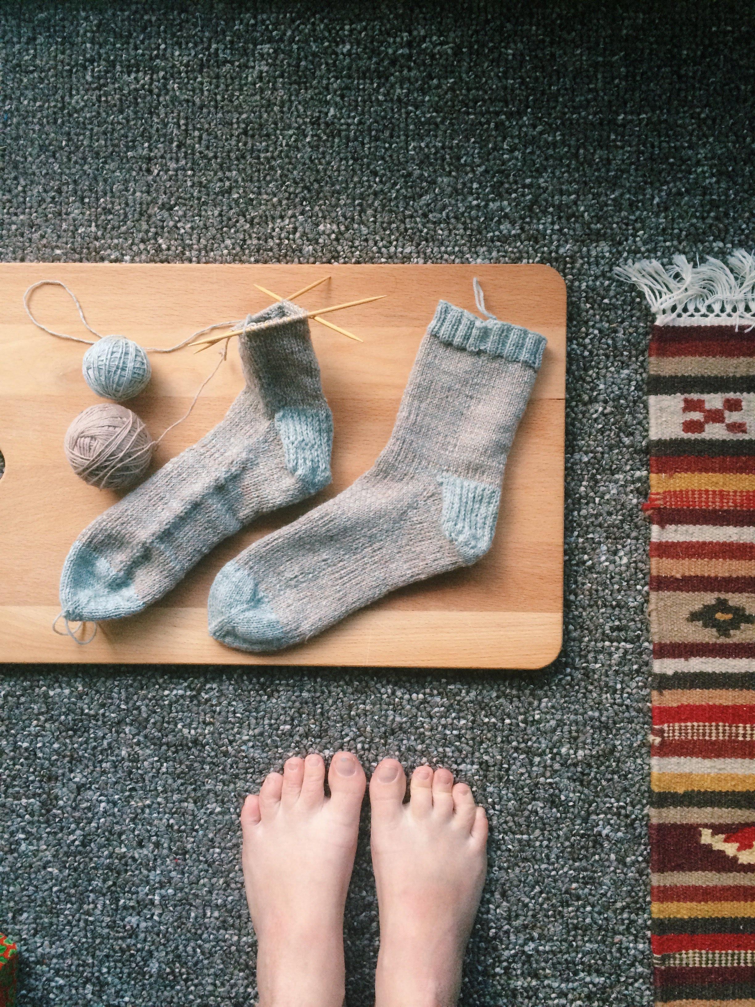 pixel stitch socks / 2017