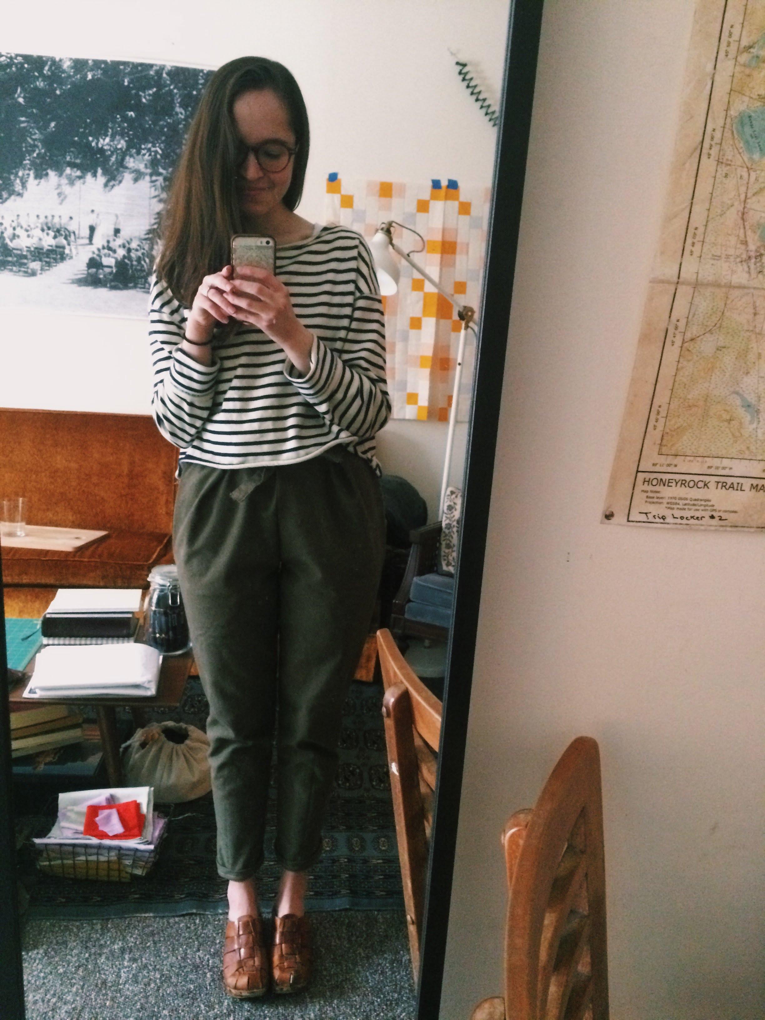 paper bag pants / 2017