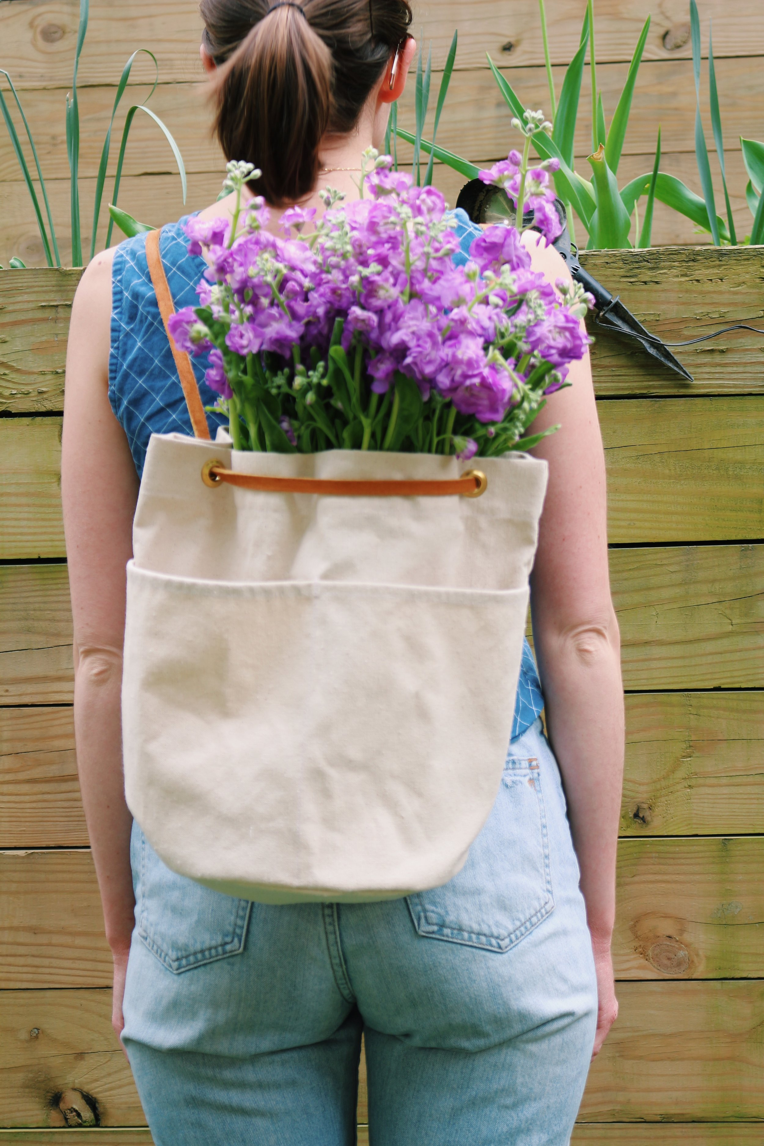 All Well Bucket Bag Sewing Pattern -